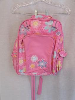 Company Kids girls backpack, small, pink, flowers, NWOT