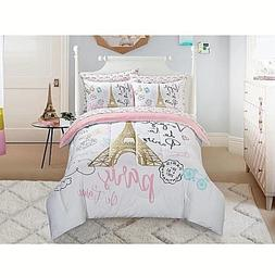 Girls Bedding Set Kids Comforter Sets Twin Full Teen Paris T