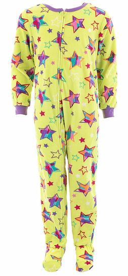 Komar Kids Girls' Fleece Footed Pajamas Blanket Sleeper Foot