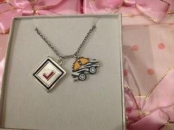 Girls ladies driving instructor car L plate novelty pendant