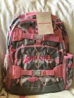 Pottery Barn Kids Girls Mackenzie Large Backpack MONOGRAM- B