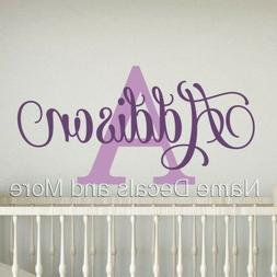 Girls Personalized Name Vinyl Wall Decal Sticker Decor Kids