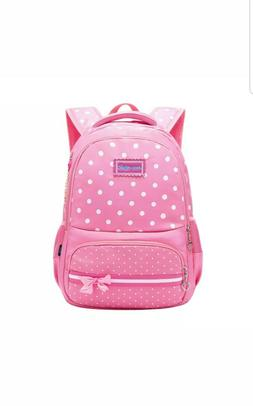 Girls School Backpack Girls' Kids Shoulder Bag Rucksack Pres