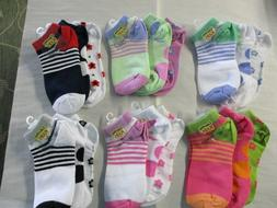 Girls Shortie Socks by Country Kids - 3 Pack - Sock Size 8-9