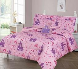 HAPPILY EVER AFTER COMFORTER BED SHEET SET WINDOW PANEL VALA