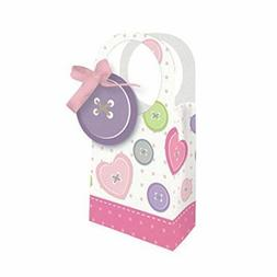 Hoffmaster Group 087560 Diecut With Ribbon Favor Bags, Cute