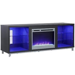 "Latitude Run Ilyse 65"" TV Stand with Fireplace"