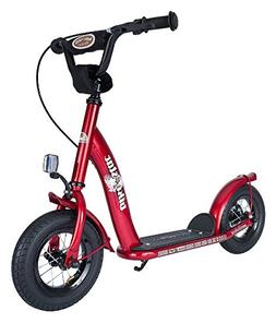 Bikestar 10 inch  Kids Kick Scooter Red