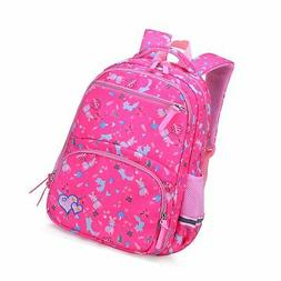 Kid Backpack School Girl Water Resistant Animal Bookbag Elem