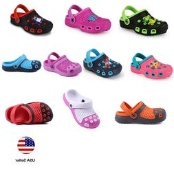 Kids Clogs For Toddler Boys Girls Big Kids Garden Beach Slip