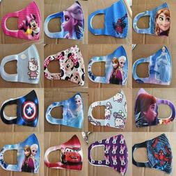 kids face mask washable with characters frozen