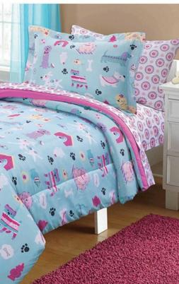 Kids Full Size Comforter Set Bedding Sheets Girls Childs Bed