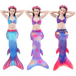 Kids Girls Boys Mermaid Tail for Swimming Fairy Tales Cospla