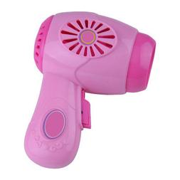 Kids Girls Toy Hair Dryer Simulation Home Appliance Role Pla
