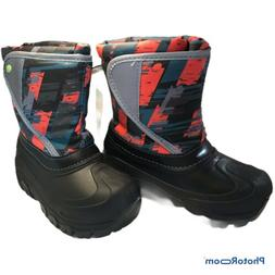 Kids Light-up Boots Size 9/10 For Snow, Rain, Heavy Duty