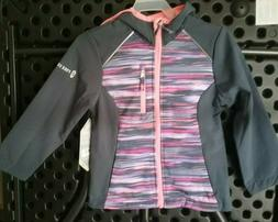 Free Country Kids Soft Shell Hooded Full Zip Jacket  Girls C