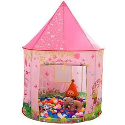Anyshock Kids Tent, Princess Castle Play Tent Girls Pop Up B