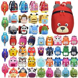 Kids Toddler Girls Boys Cute Animal Backpack Kindergarten Sc