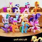 12 My Little Pony Action Figures Kids Girl Toy Dolls Cake To