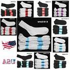 12 Pairs Lot Boy Girl Cotton Socks Boy Girl Junior Kids Whit