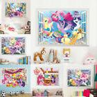 3D My Little Pony Cute Wall decals Removable sticker kids nu