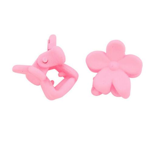 50 Kids Baby Plastic Claw Flower YX