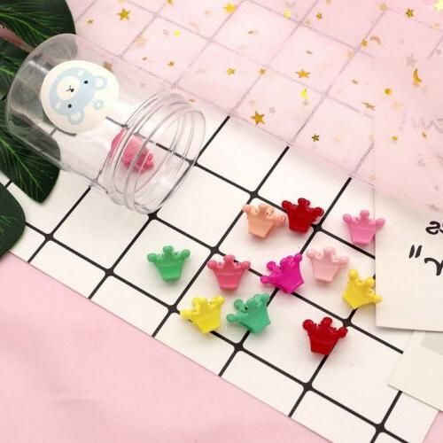 50 PCS Kids Mini Small Hairpins Mini Claw Clamp Flower