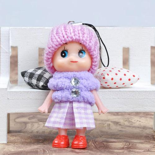 5 Soft Interactive Baby Toy Mini Doll Girls Cute
