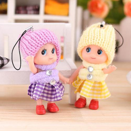 5 Pcs Kids Soft Interactive Toy Mini For Girls Gift
