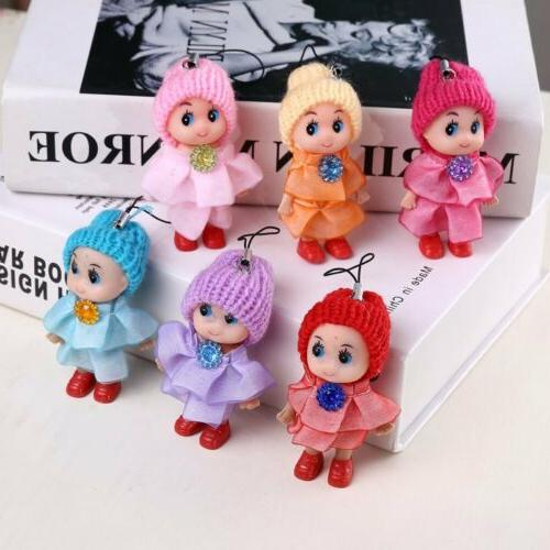 Lovely Kids Toys Soft Interactive Baby Dolls Toy Mini Doll B
