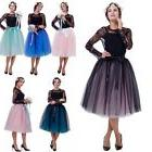 6 Layers Maxi Tulle Women Tutu Skirt Skirts Princess Ballet