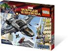 6869 1 super heroes quinjet aerial battle