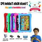 "7"" Google Android Tablet 16GB Bundle Case for Kids Gift Game"