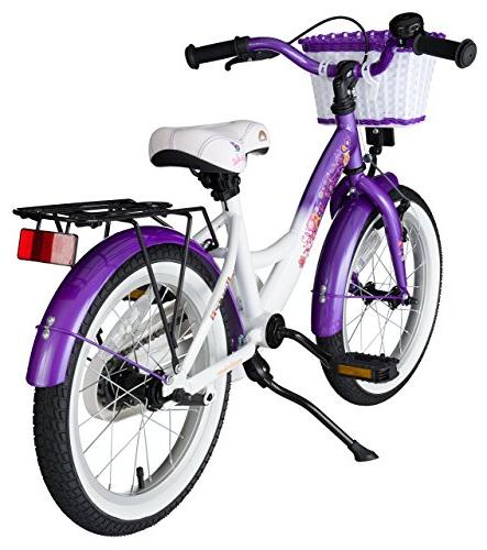 BIKESTAR Sport with for Age Year Old Children Inch Classic Edition Girls Candy & Diamond White