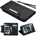 For LG Stylo 3 Plus Strap Leather Wallet Protective Case Cov