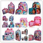 Little Girls School Backpack Lunch box Set Large Cartoon Boo