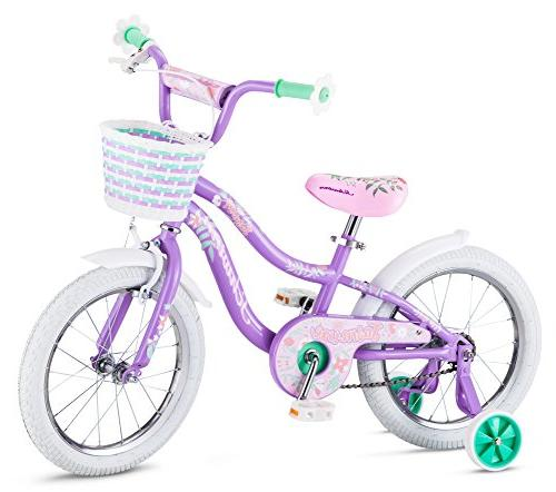 "Fast SHIP and NEW 16/"" Kids Bike Bicycle with Training Wheels and Basket"