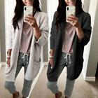 Womens Ladies Baggy Cardigan Coat Tops Chunky Knitted Oversi