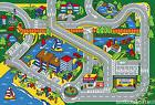 3x5  Area Rug Play Harbor Road Driving Around  Port  Kids Ci