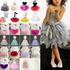 Baby Kids Flower Girl Tutu Tulle Dress Princess Wedding Page