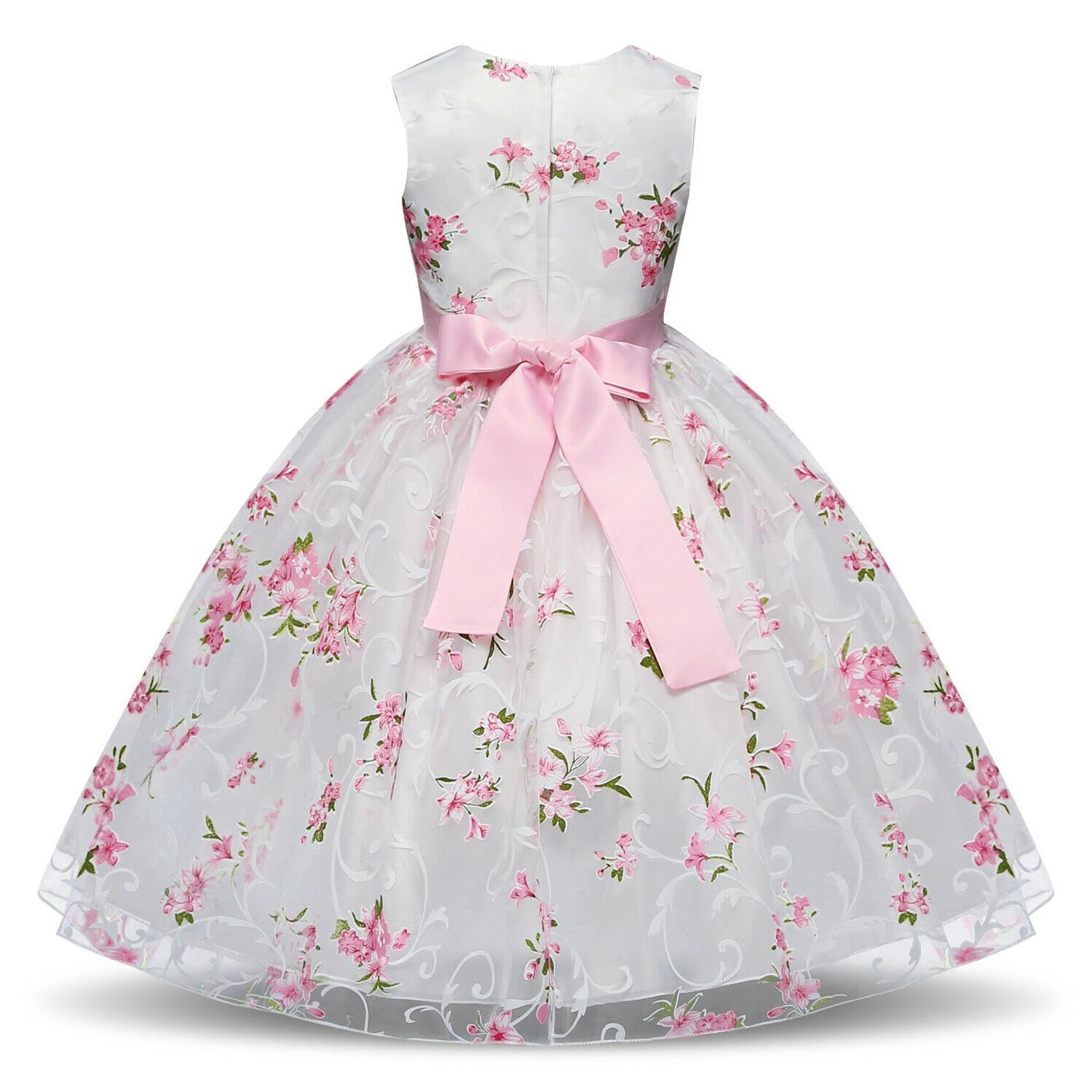 Baby Flower Princess Party Bridesmaid 8T