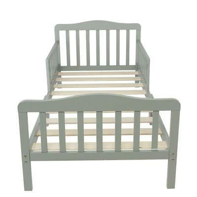 Baby Children Wood Guard Rail Gray