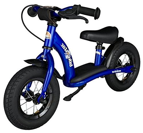 BIKESTAR Safety Kids Balance Bike and with tires age 2 boys and girls | 10 | Blue