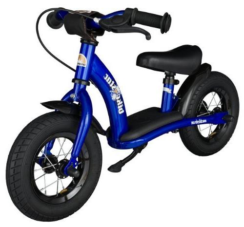 BIKESTAR Original Safety Kids First Bike with brakes age old boys and 10 Inch Classic | Adventurous