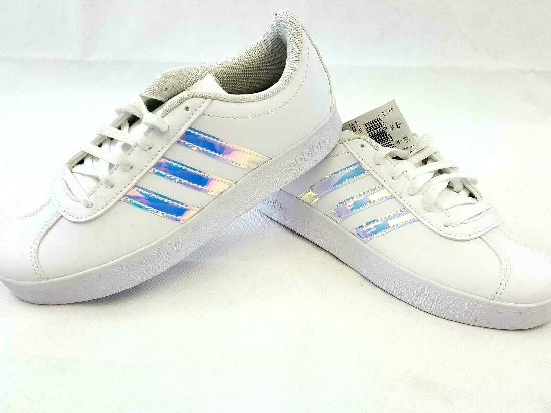 Adidas White Kids Sneakers Shoes F36384