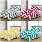 Chezmoi Collection Bedding Reversible Chevron Zig Zag Comfor