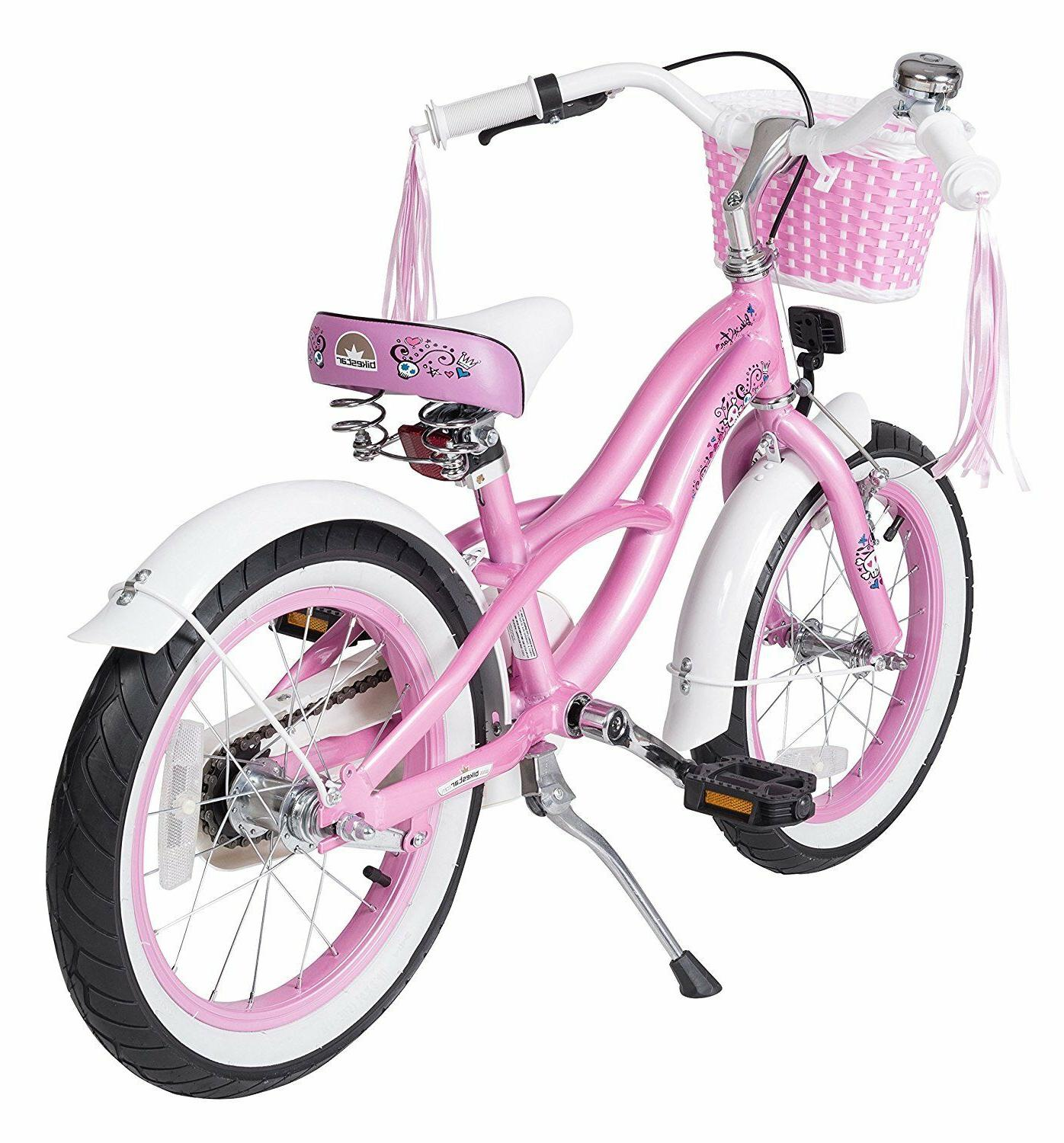 BIKESTAR® Girls Bicycle Cruiser Pink