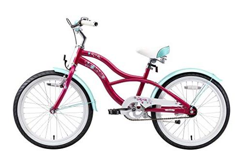 BIKESTAR Sport Bicycle with for Old Inch Cruiser Edition Girls |