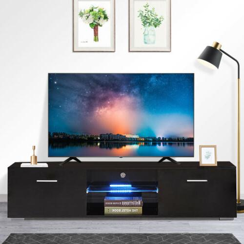 black gloss tv stand unit