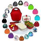 Boy Girls Kids Thermal Insulated Cooler Lunch Bag Waterproof